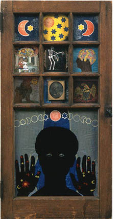 Betye Saar, Black Girl's Window
